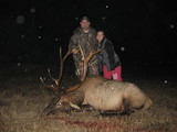 Fantastic Elk Bull harvested by Steven Deblasio at Circle E Ranch in Texas - Steven & Brandy Deblasio