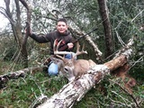 "Trophy Whitetail Deer Hunt - Nice Whitetail Deer harvested by ""Big Jug"" Gipson at Circle E Ranch in Texas"