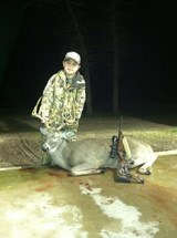 Whitetail Hunts in Texas - Fantastic Whitetail Buck harvested by Lane Gipson at Circle E Ranch in Texas