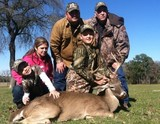Whitetail Hunting in Texas - Very Nice Whitetail Buck harvested at Circle E Ranch in Texas