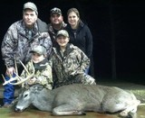 Trophy Whitetail Hunt - Awsome Whitetail Buck harvested by Lane Gipson at Circle E Ranch with his family