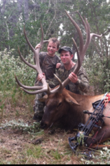 Trophy Elk Hunting in Texas - Great Elk harvested by Ryan Henderson at Circle E Ranch in Texas