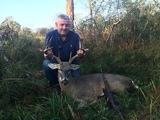 Whitetail Hunting in Texas - Nice Whitetail harvested at Circle E Ranch in Texas